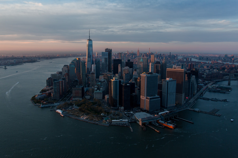 Over Downtown by Jon Trend on 500px.com