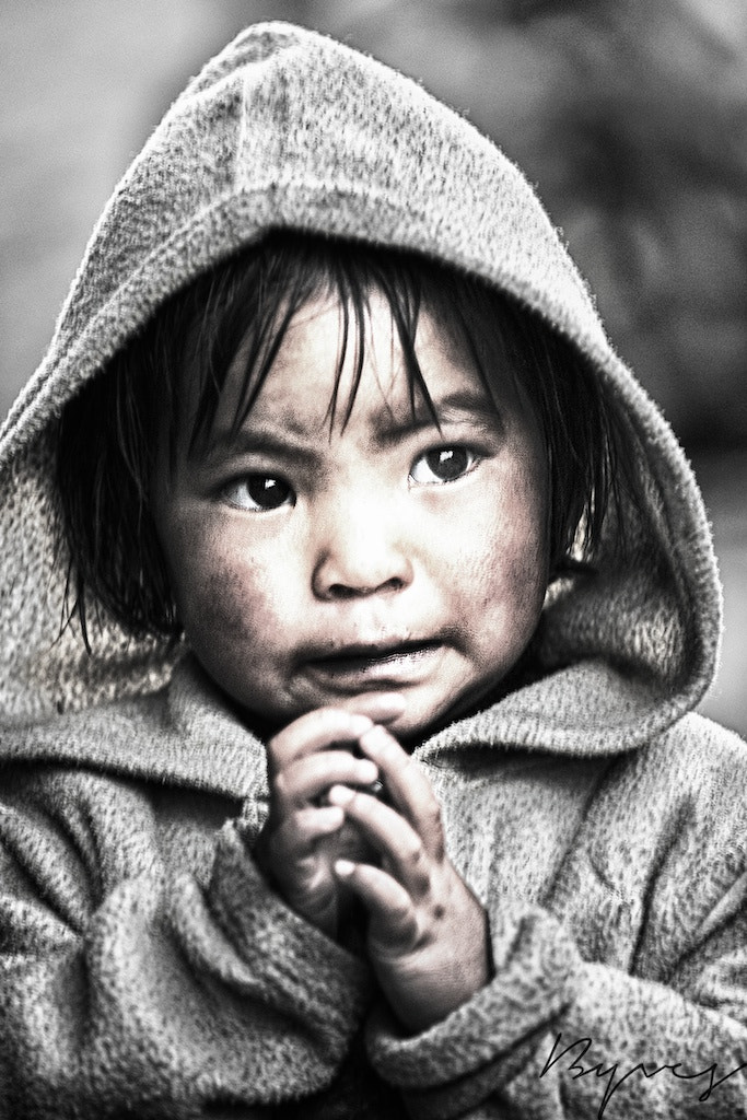 Photograph The innocence by yves b on 500px