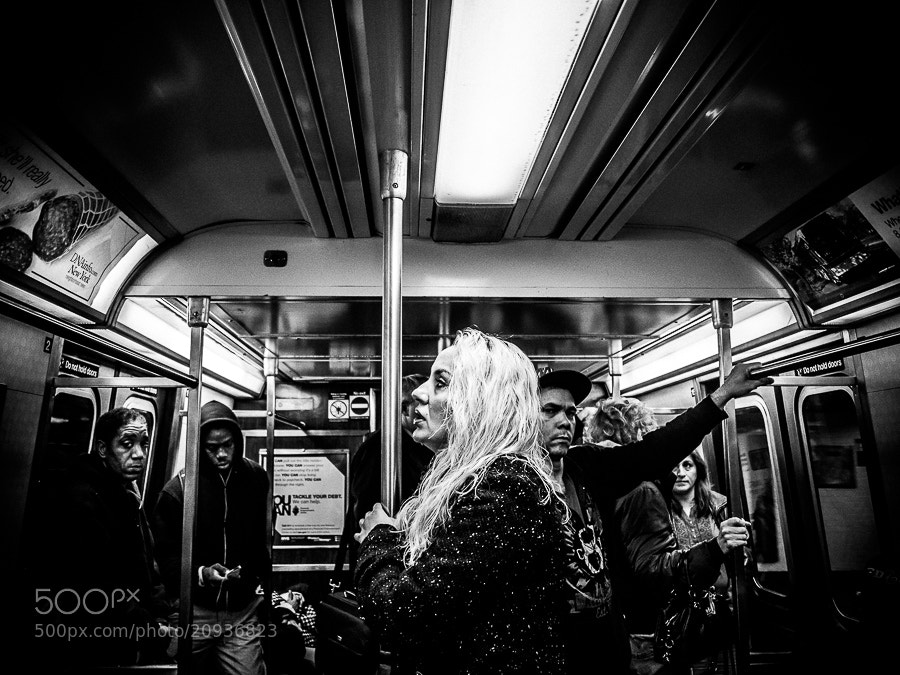 Photograph Street Photograph of the Day | R-Train to Queens  | Manhattan, NYC by Jonathan Auch on 500px