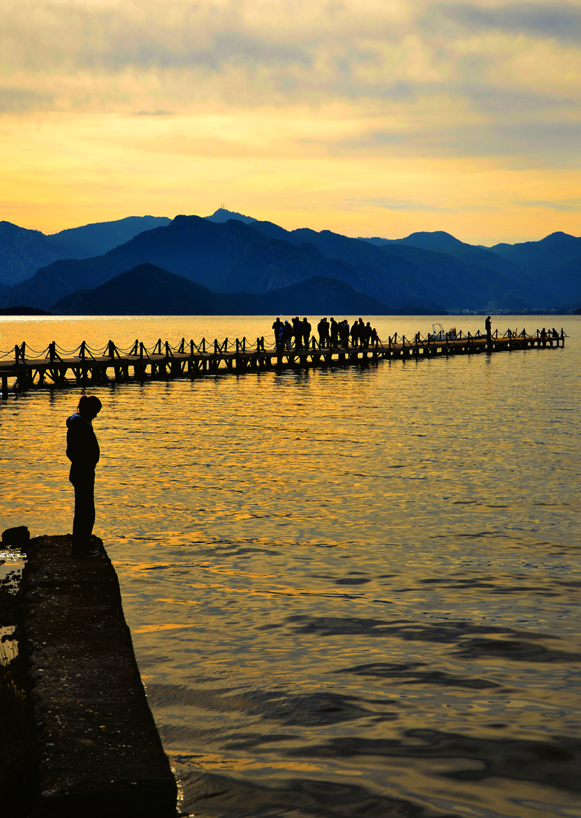Photograph center of life in Marmaris by muhammet özcan on 500px