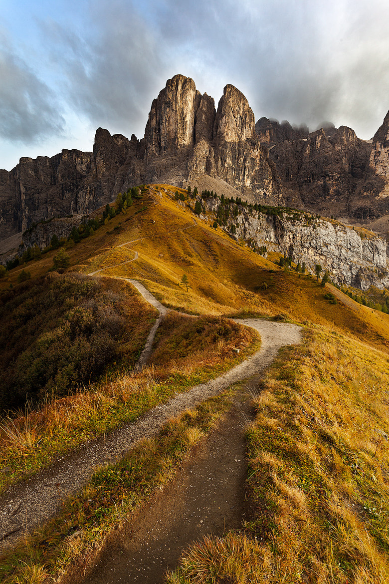 Photograph The Way - Passo Gardena by Alessandro Bondesan on 500px