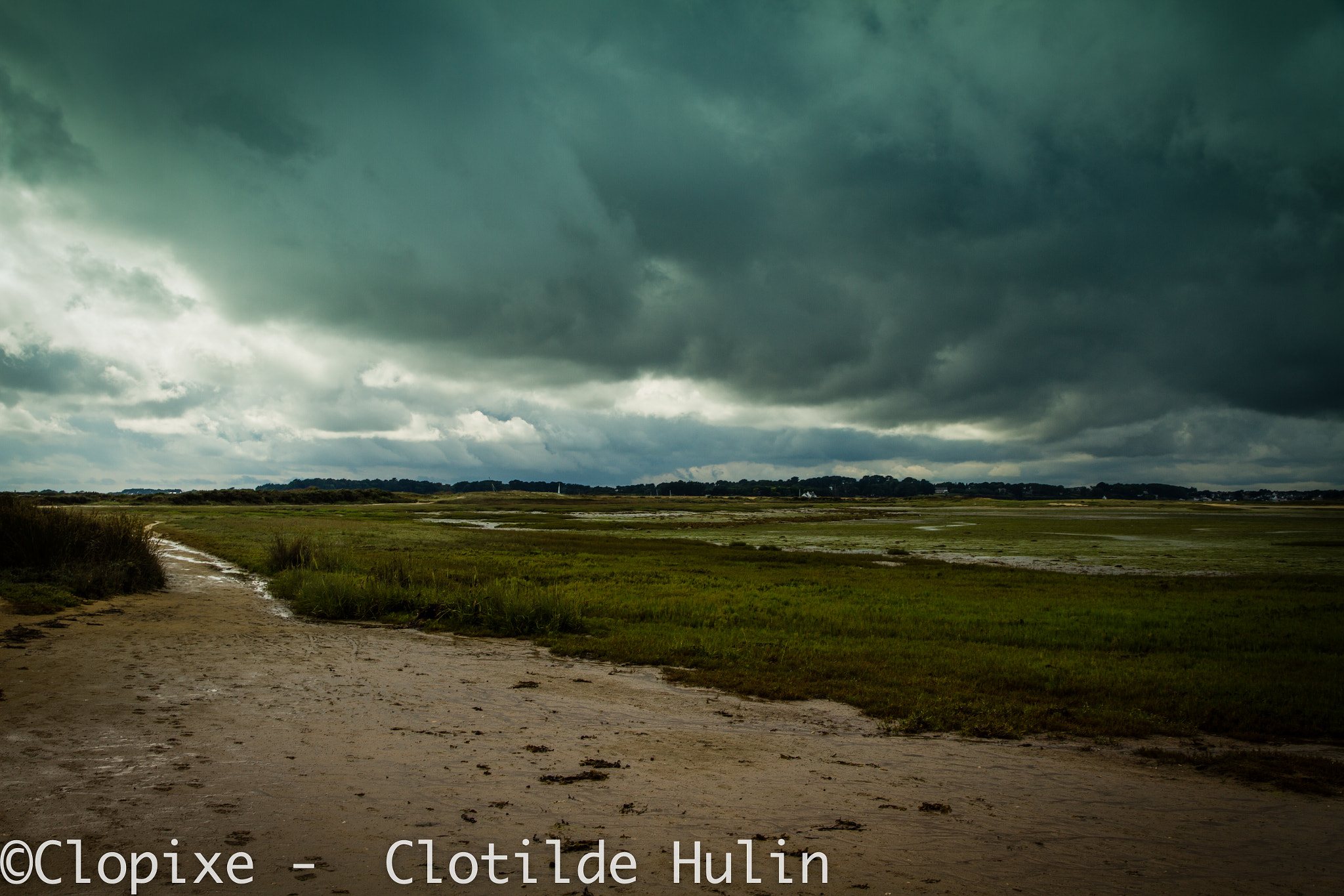 Photograph storm in seaside by Clotilde Hulin on 500px