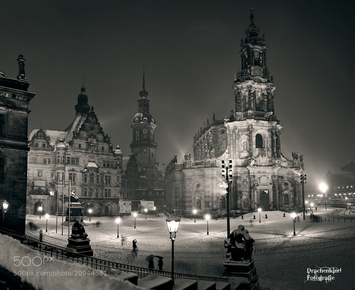 Photograph dresden on snow  (2.Advent) by drachenkind xxx on 500px
