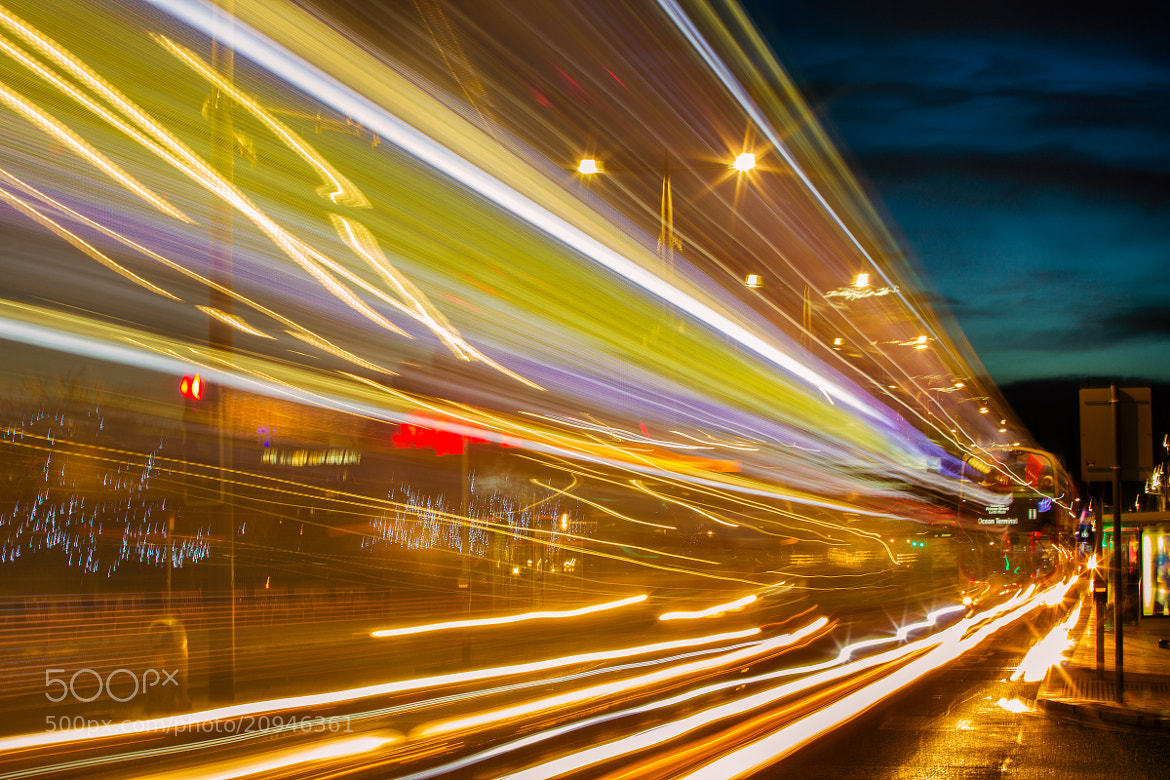 Photograph Abstract Traffic, Princes St., Edinburgh, Scotland. by Lisa Bettany on 500px