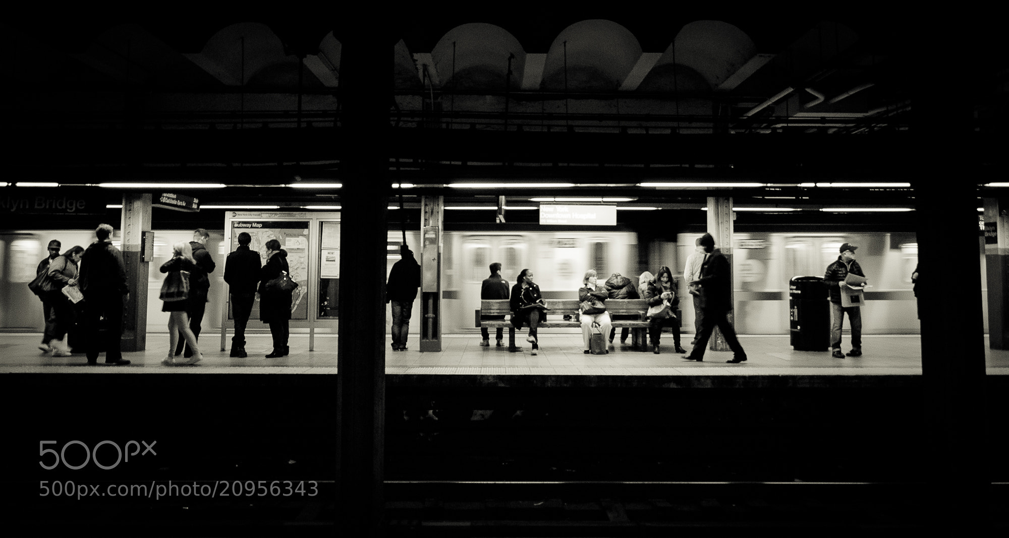 Photograph NYC Subway by Nate Davis on 500px
