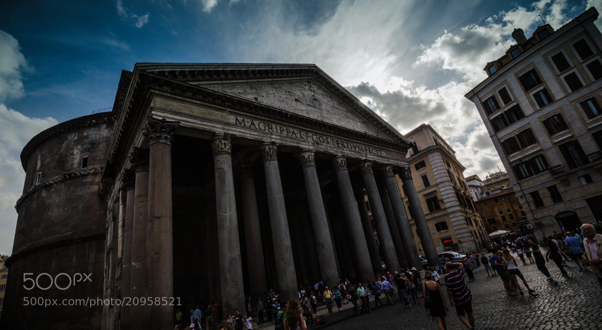 Photograph Pantheon, Italy by Gary   on 500px