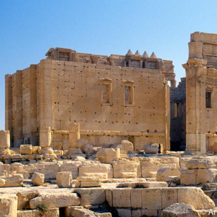 Palmyra.1999 - Tempio di Bel
