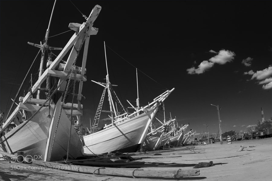 Photograph Paotere in B/W by rois effendi on 500px