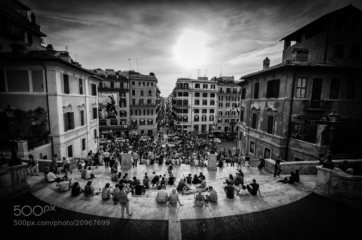 Photograph Spanish Steps by Gary   on 500px