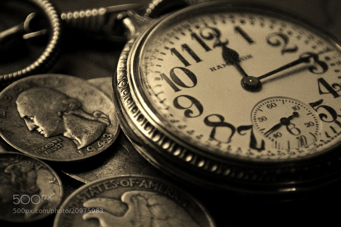Photograph Old Pocketwatch by Kayleigh Wilson on 500px
