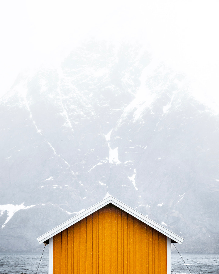 The cabin, Lofoten by Locarl on 500px.com