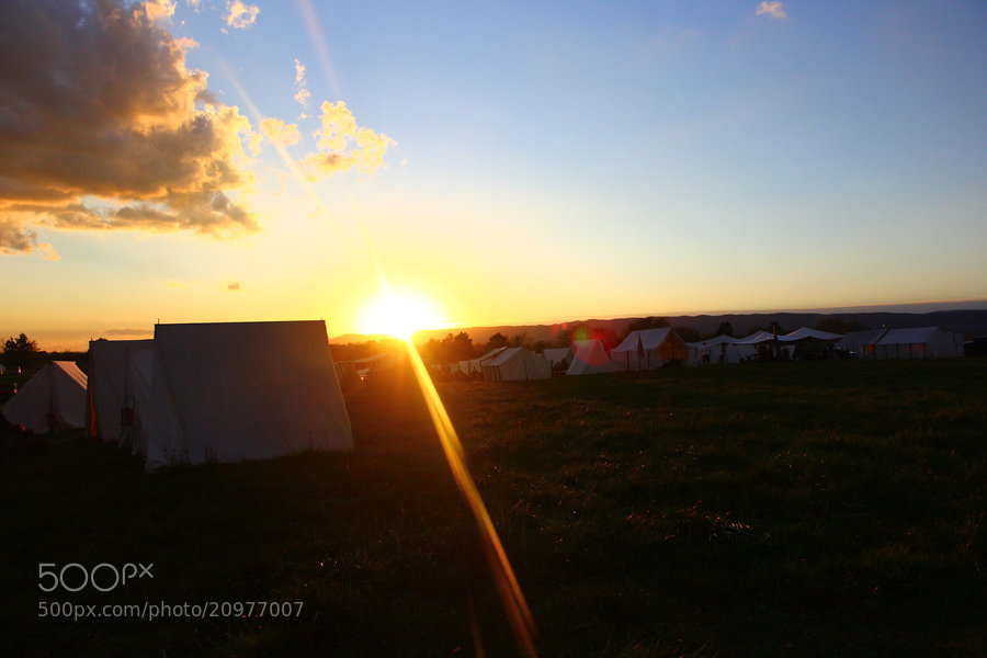Photograph Civil War Camp by Steph  on 500px