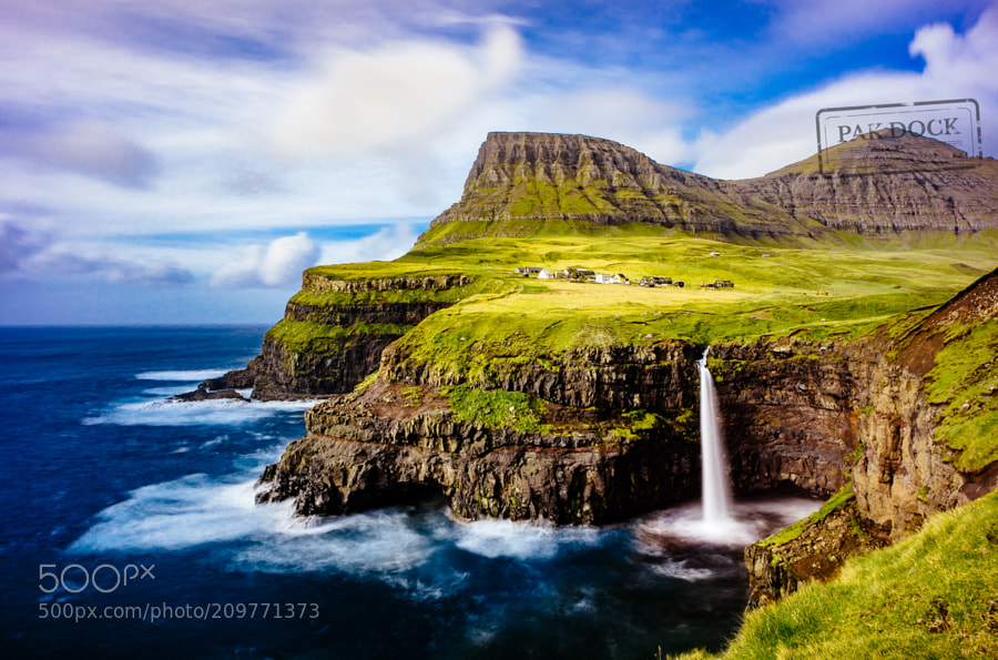Gasadalur waterfall - Faroe Islands