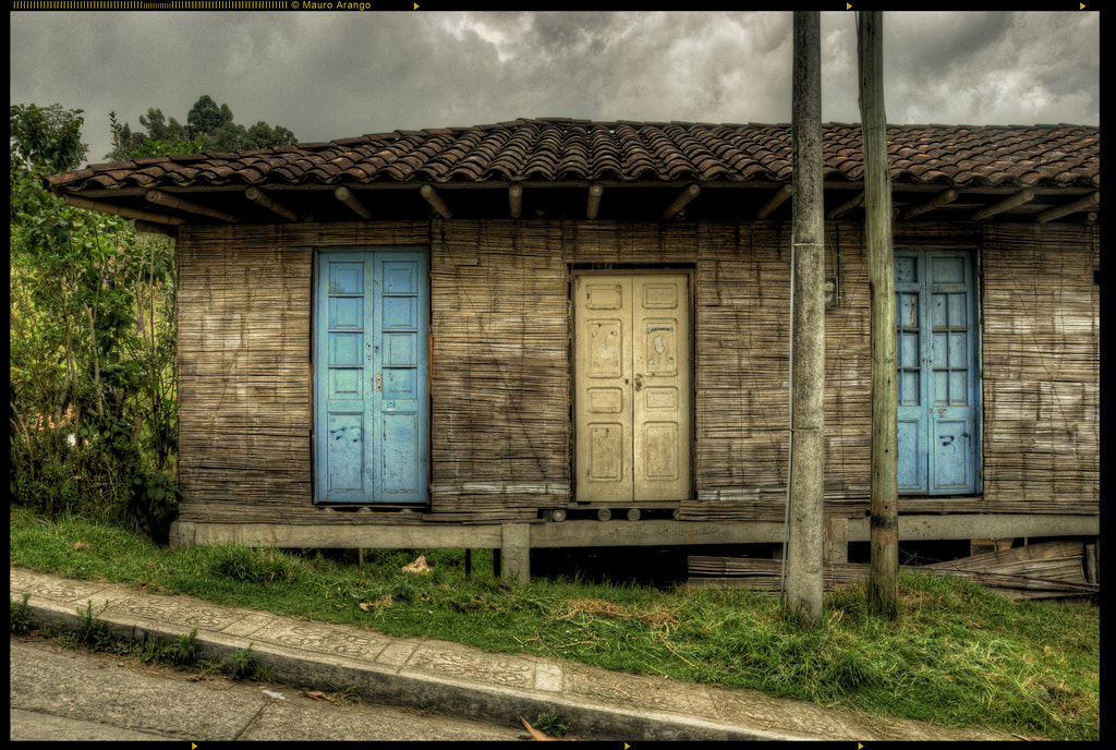 Photograph Blue Doors by Mauricio Arango on 500px