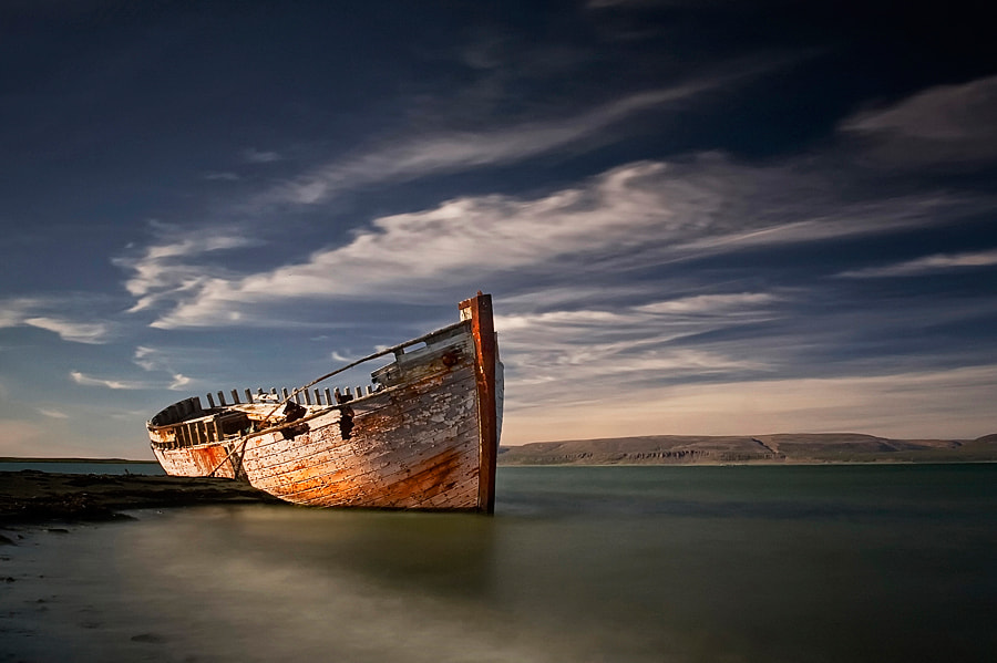 Photograph Shipwreck by Þorsteinn H Ingibergsson on 500px