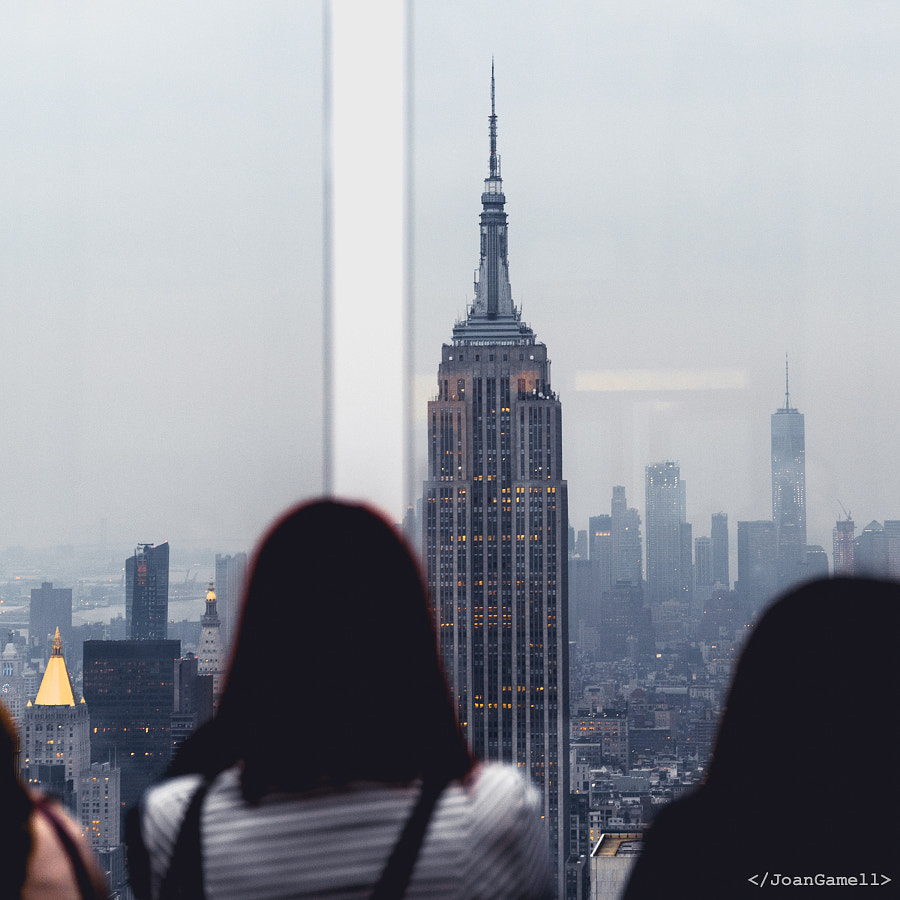 Admiring the Empire State