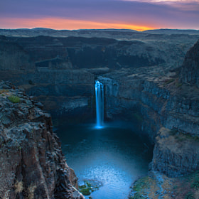 Return To A Palouse Falls Sunrise!!! by Jim Ross (RinconSierra)) on 500px.com