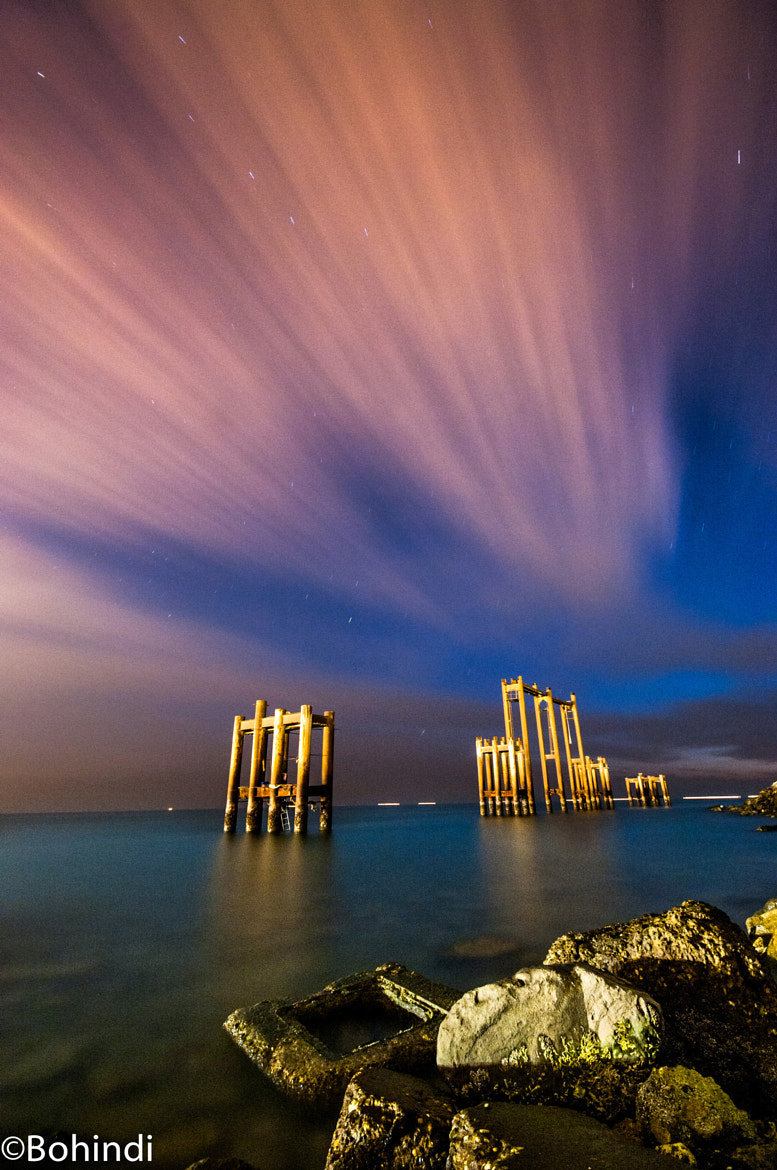 Photograph cloudy night with star by bohindi abdulla on 500px