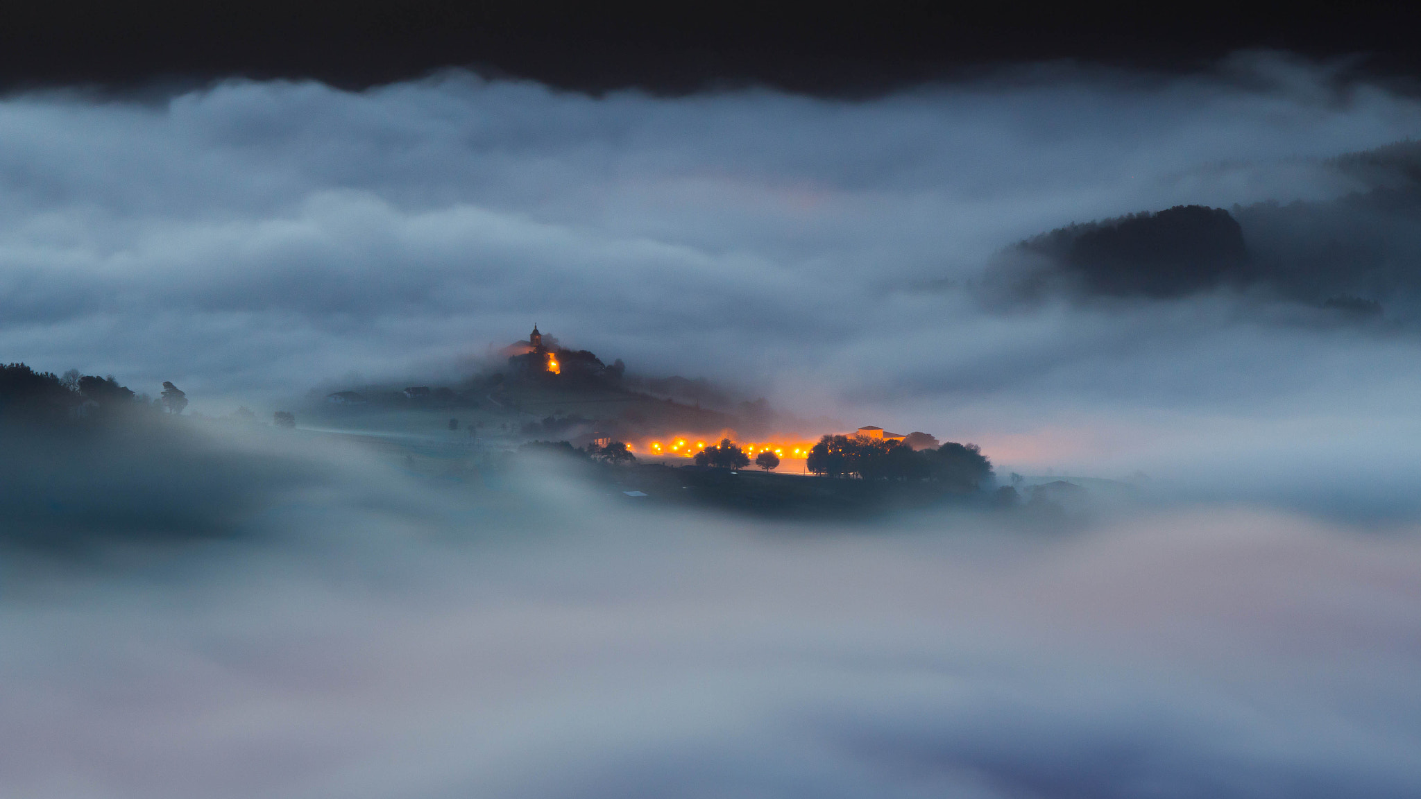 Photograph Colorful fog by Jokin Romero on 500px