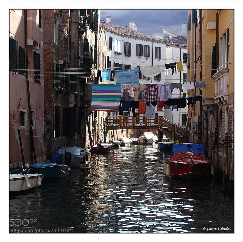 Photograph jour de lessive à Venise by Pierre Tichadou on 500px