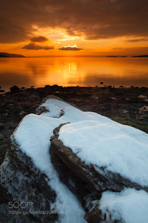 Photograph Golden Sunset by Lars Øverbø on 500px
