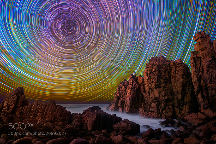 Photograph Cape Woolamai Stars by Lincoln Harrison on 500px