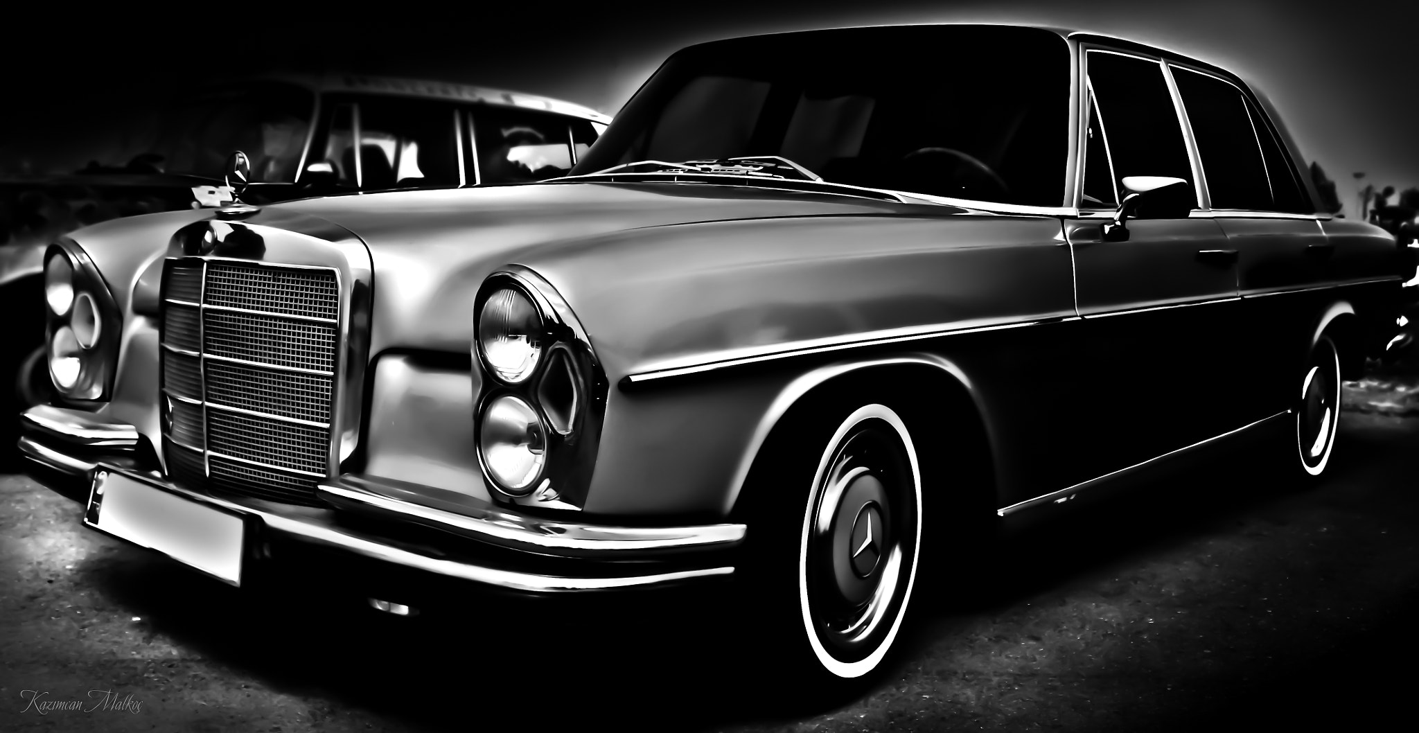 Photograph b&w car by Kazımcan Malkoç on 500px