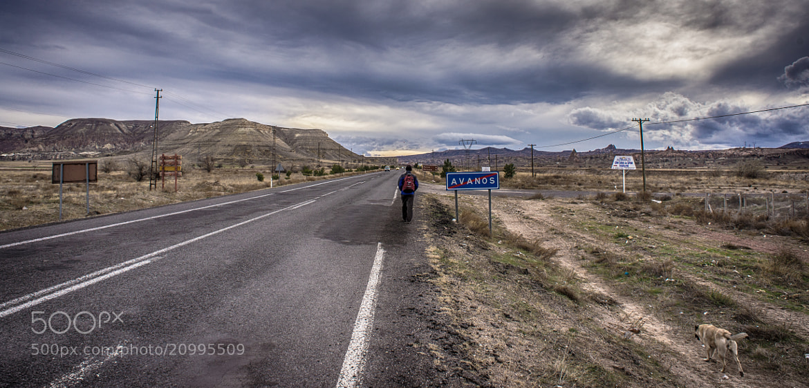 Photograph The lonely road we walk along by Alan Grainger on 500px
