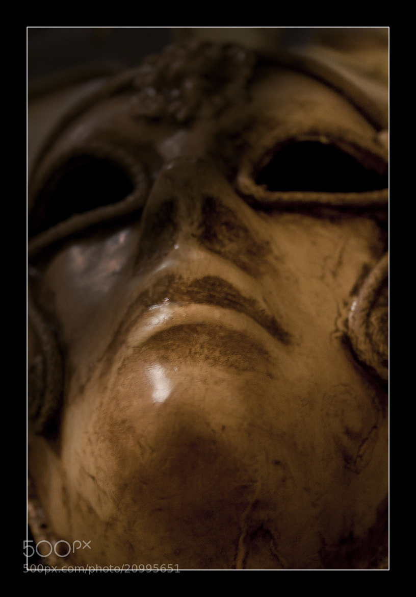Photograph Mask of Prophet II by Murat  on 500px