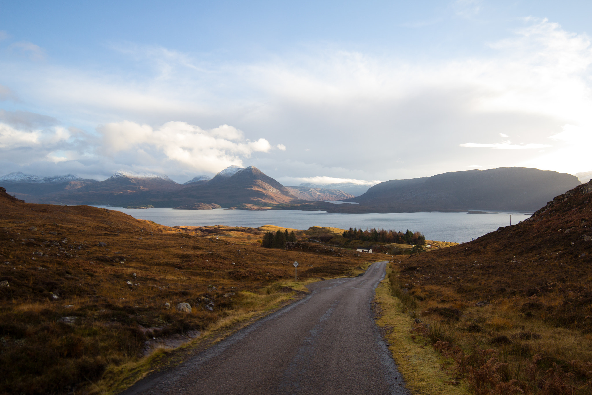 Photograph Road to the Loch by Dan James on 500px