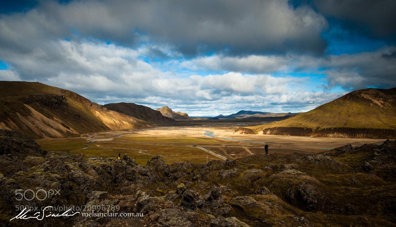 Photograph Looking Over Landmannalaugar by Mel Sinclair on 500px