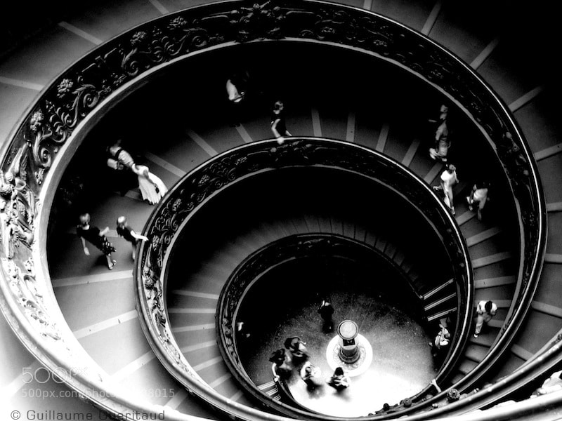 Photograph spiral by Guillaume GUERITAUD on 500px