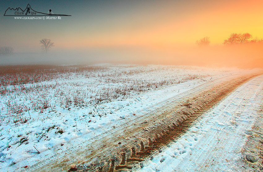 Photograph Winter light by Matteo Re on 500px