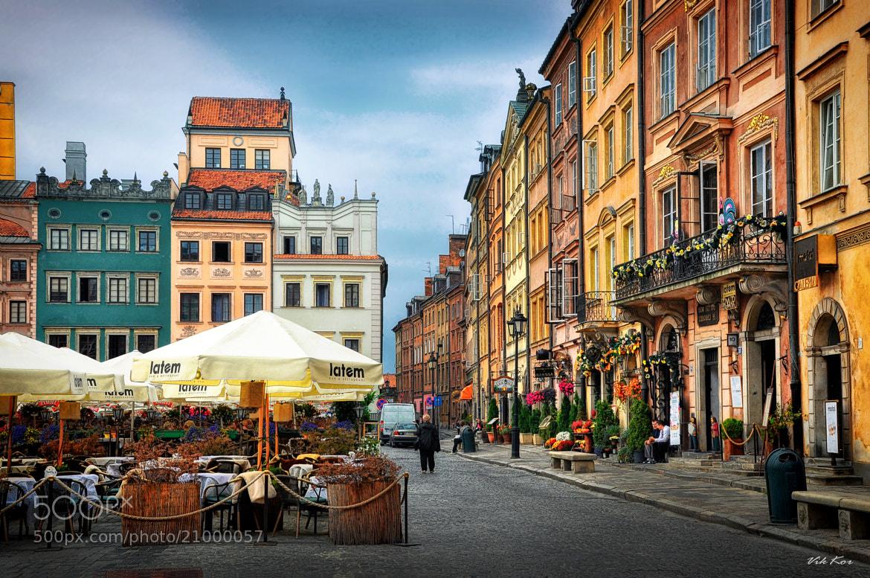 Photograph Warsaw's Old Town Market Place by Viktor Korostynski on 500px