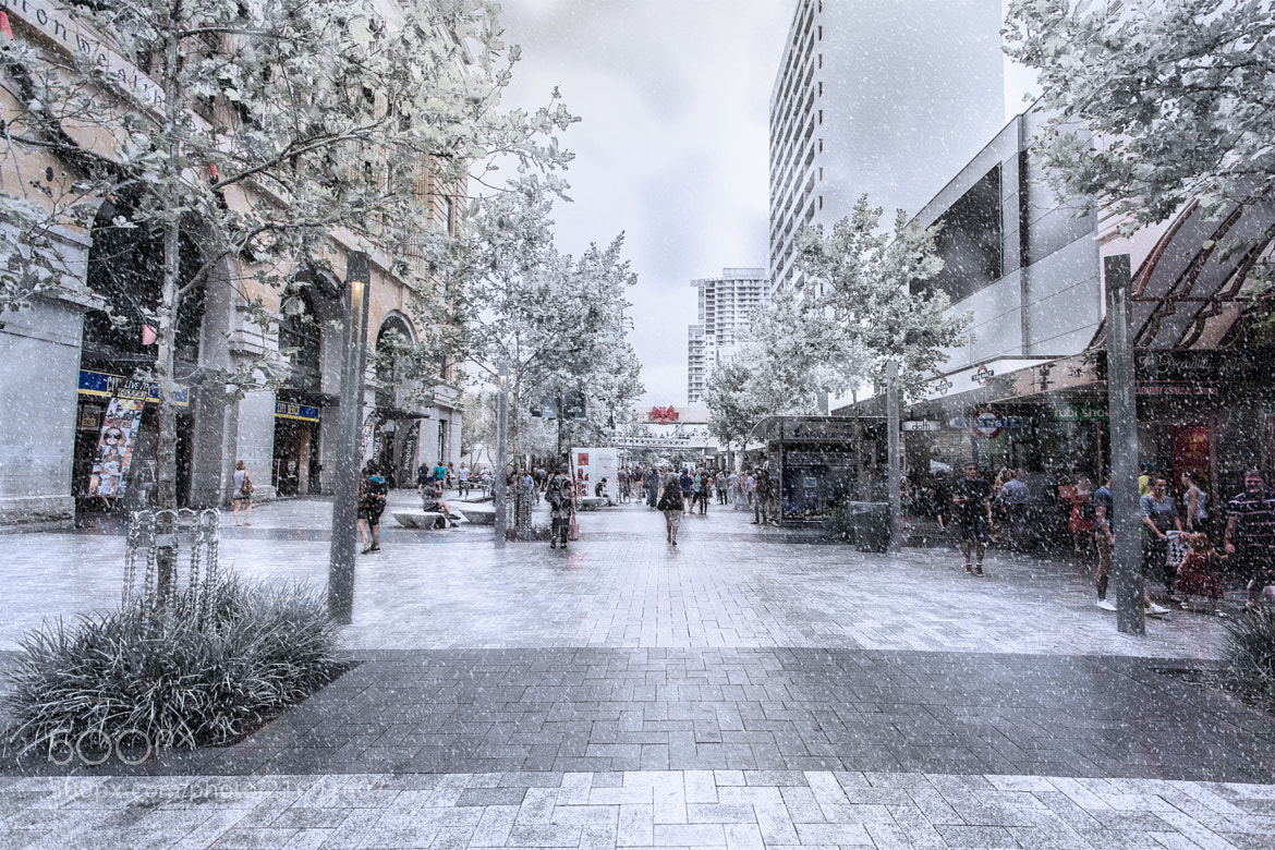 Photograph Snowing in Perth by Tristan  Jud on 500px