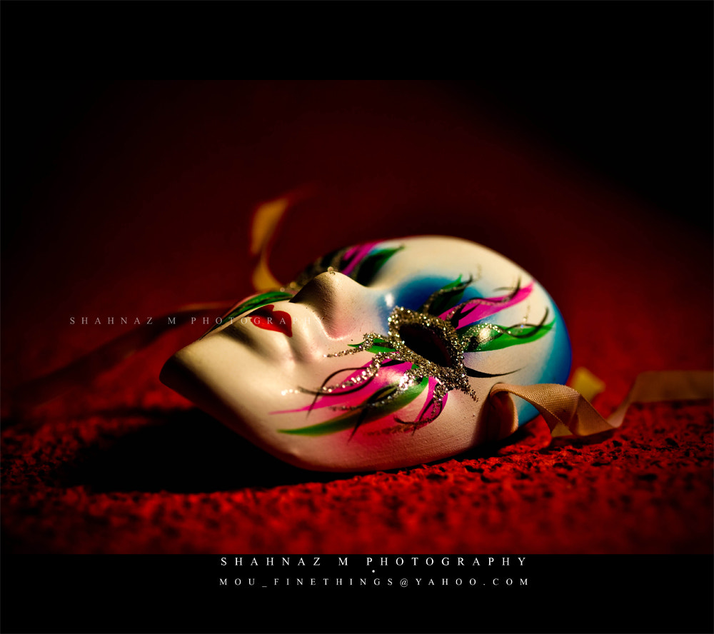 Photograph Take a bow..the night is over..This masquerade is getting older... by Shahnaz M on 500px