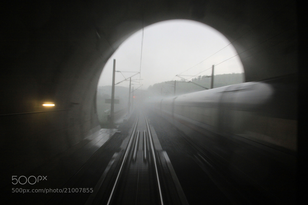 Photograph Phantom of a train by Marie Macharmante on 500px