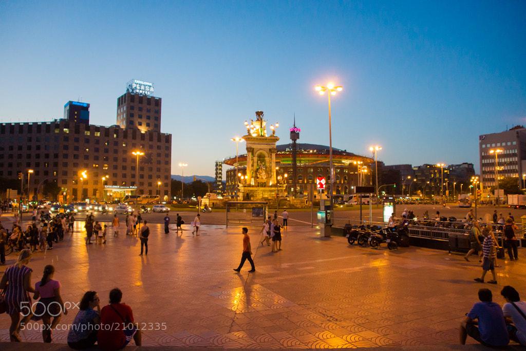 Photograph Plaza de España, Barcelona by Alexey Nakhimov on 500px
