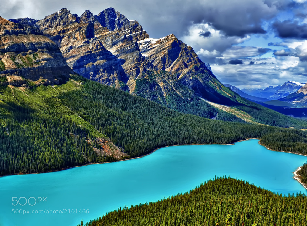 Photograph Peyto Lake Blue by Jeff Clow on 500px