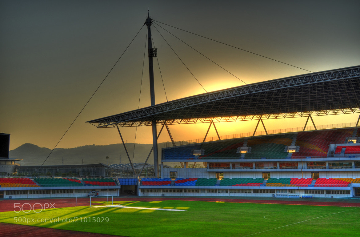 Photograph The Gymnasium at Sunset by Soleil Neon on 500px