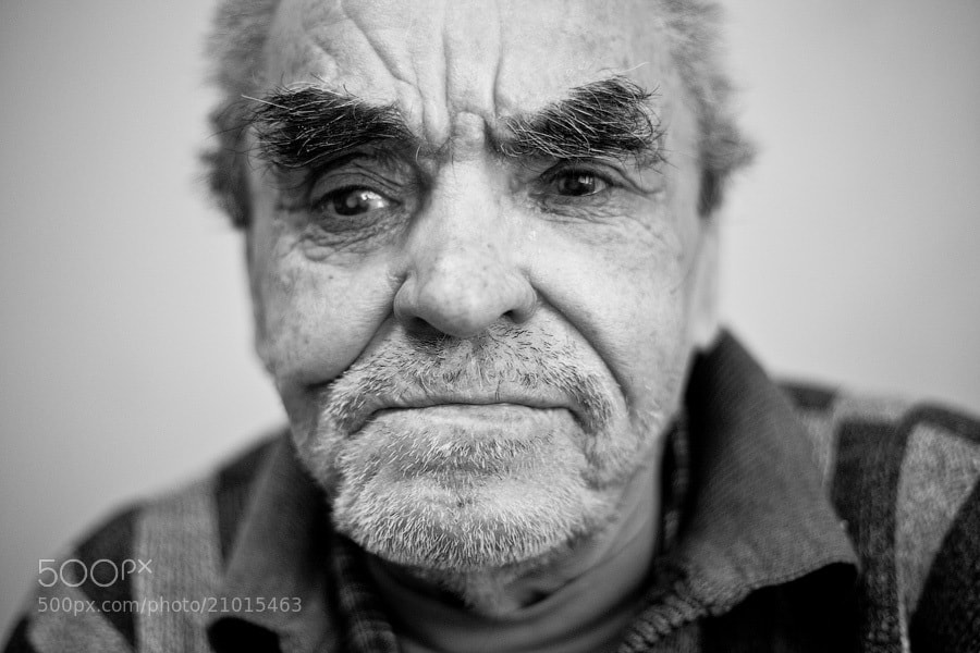 Photograph Blind old man by George Malets on 500px