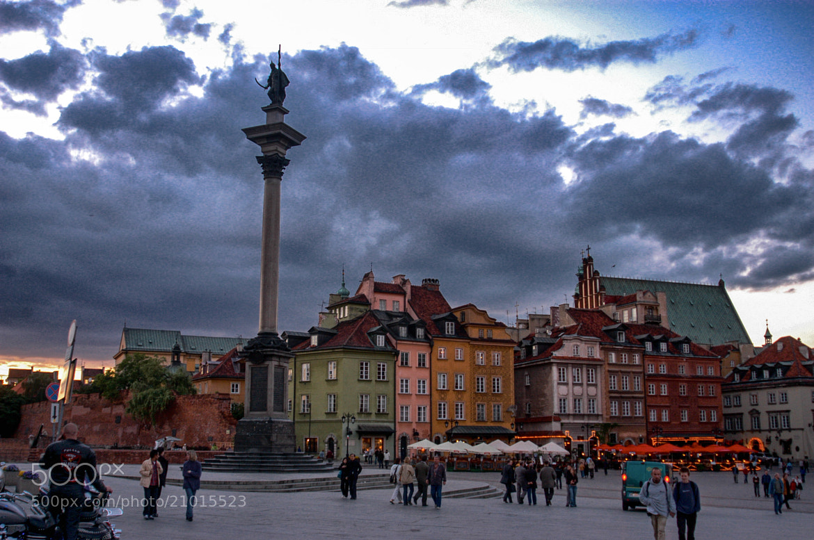 Photograph Warsaw by Edmund Orzsik on 500px