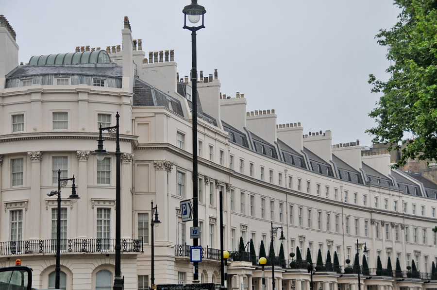 Streets of London, Belgrave Square by Sandra on 500px.com