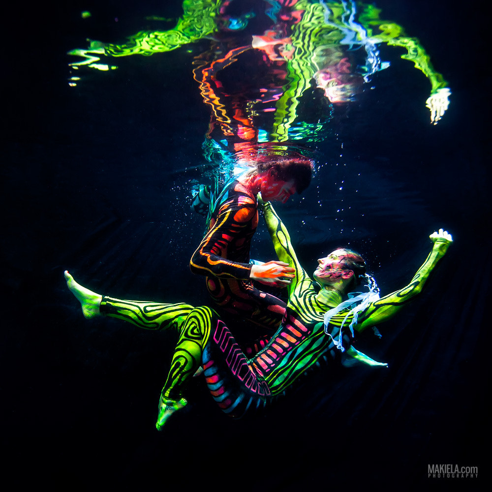 Photograph Black Light Ballet by Rafal Makiela on 500px