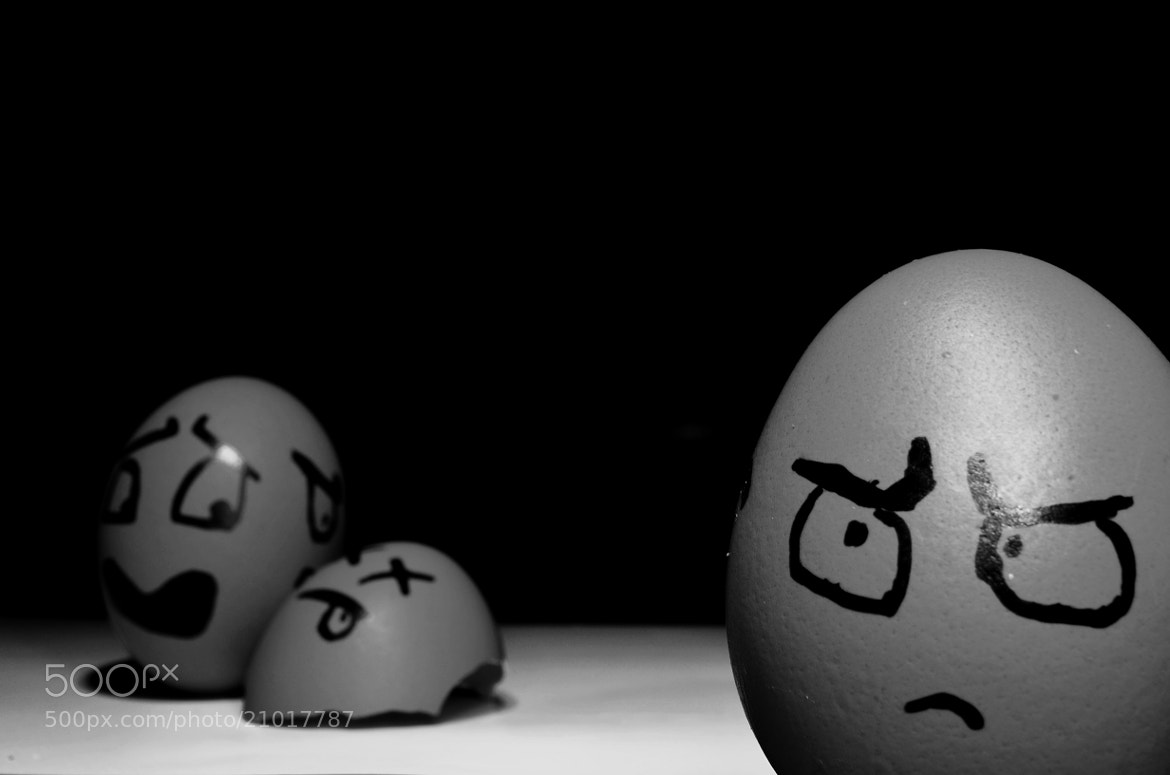 Photograph Eggs, death and darkness. by Sergio Nuñez on 500px