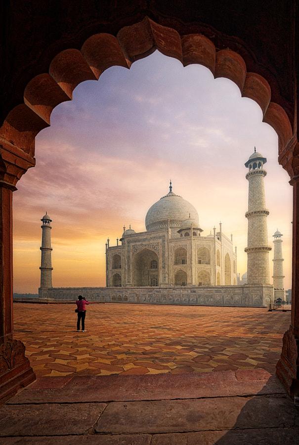 Taj Mahal by Mohammed Abdo on 500px.com