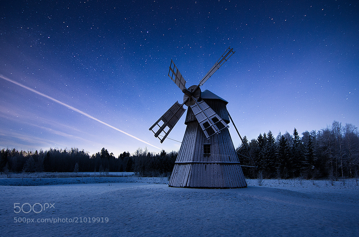 Photograph Night mill by Mikko Lagerstedt on 500px