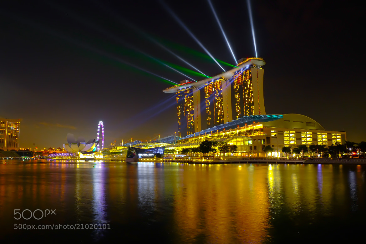 Photograph Laser Show by Daniel Shi on 500px