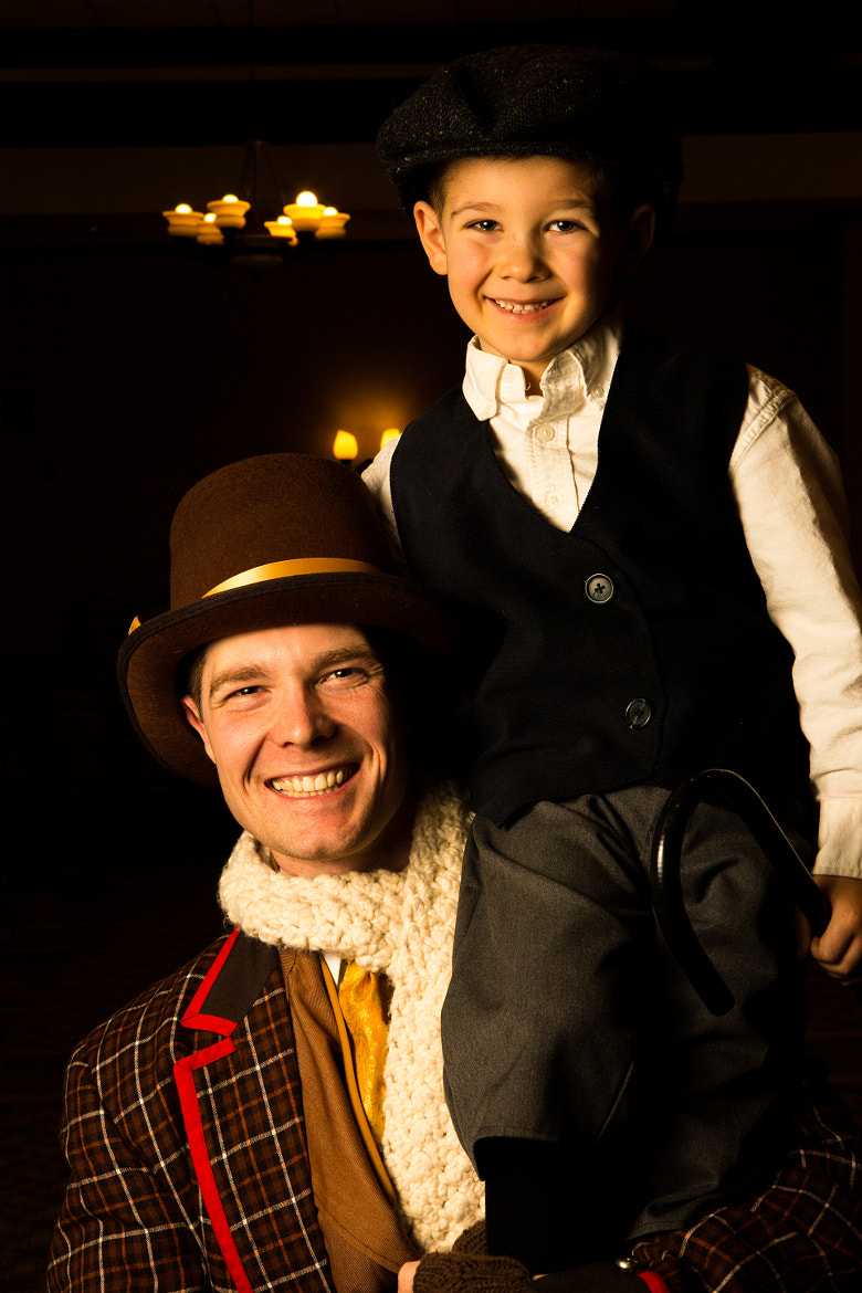 Photograph Bob Cratchit and Tiny Tim by Daniel Carroll on 500px