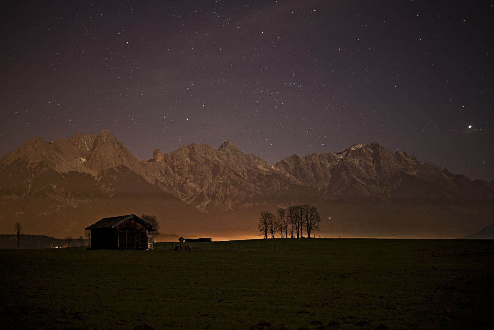 Photograph Creamy Nightshot  by Patrick Hochleitner on 500px